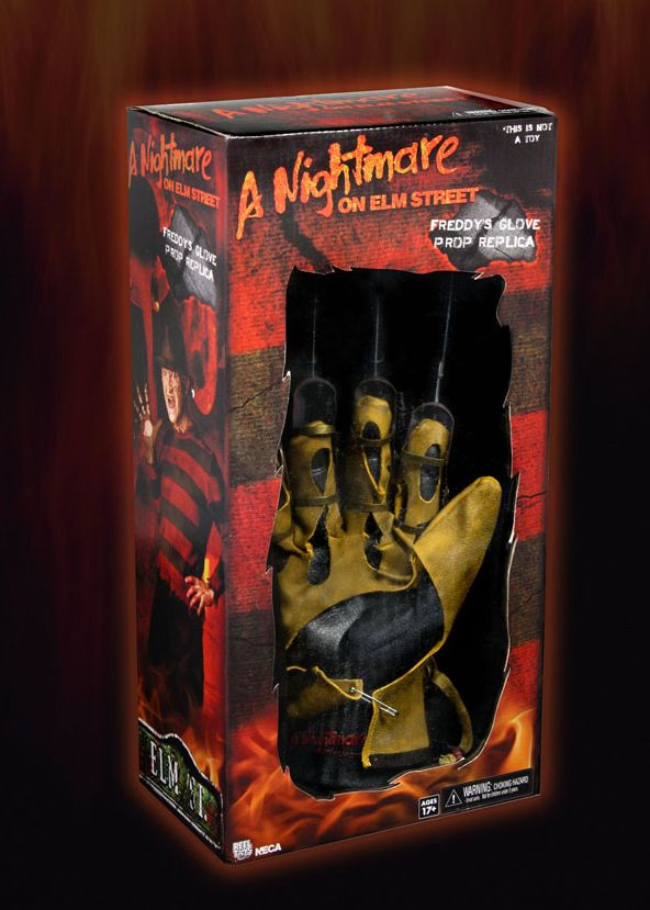 neca freddy krueger 1984 glove prop replica. Black Bedroom Furniture Sets. Home Design Ideas